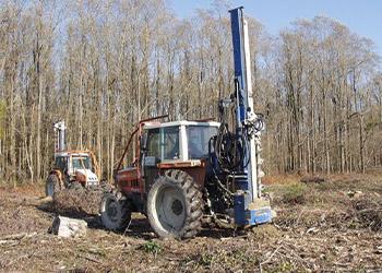 Trivella per piantare alberi
